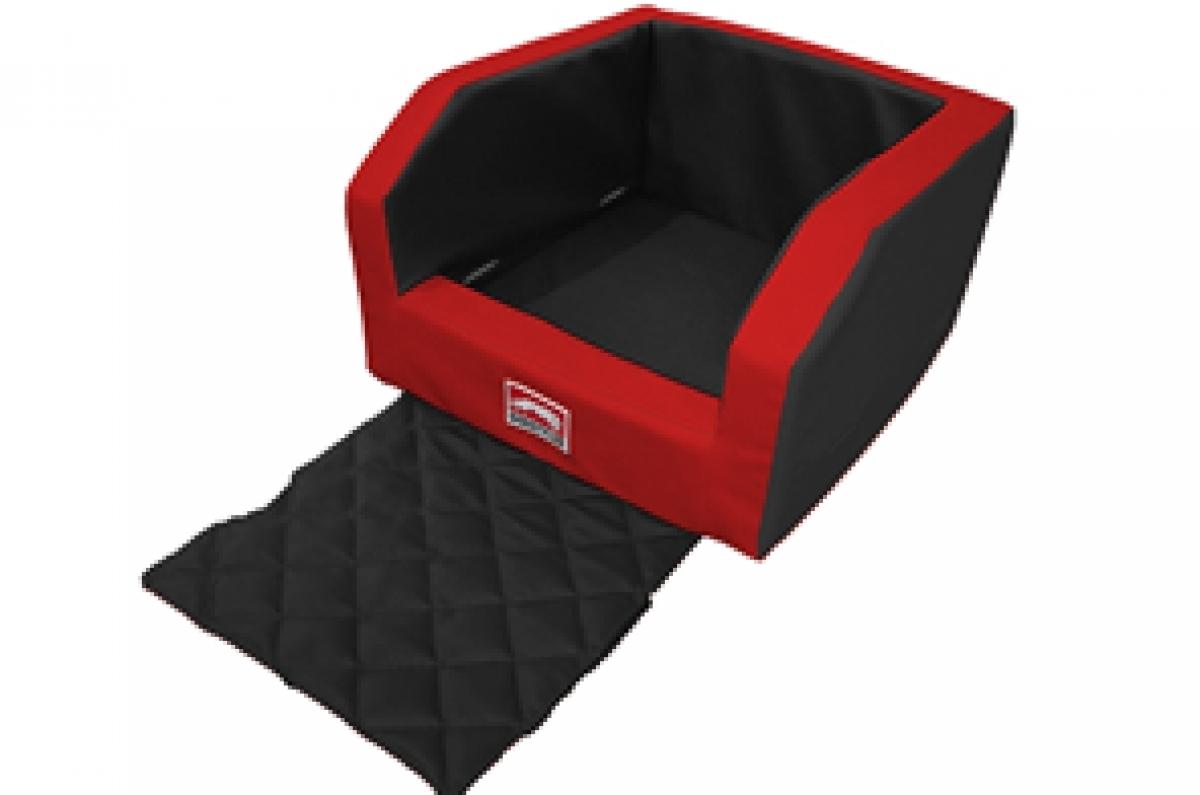 dog safetyseat hunde autositz sicherheits hundesitz f r. Black Bedroom Furniture Sets. Home Design Ideas